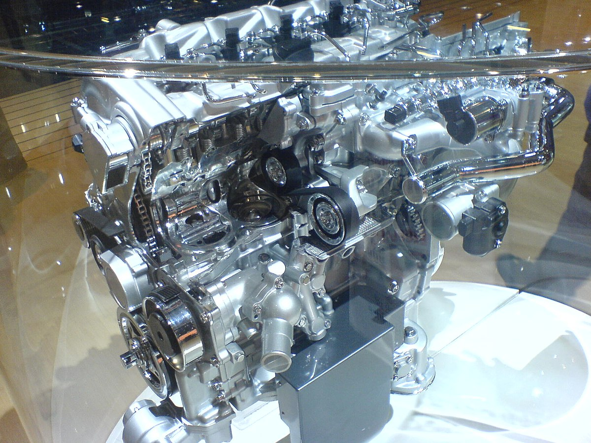 Toyota Ad Engine Wikipedia Cat Turbocharger Diagram Of