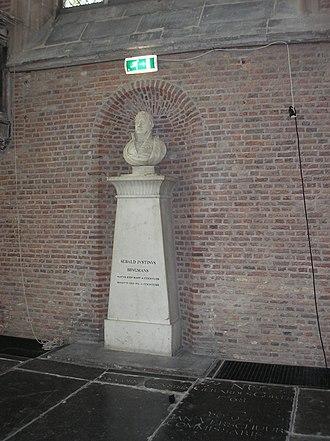Sebald Justinus Brugmans - Monument in Pieterskerk Leyden