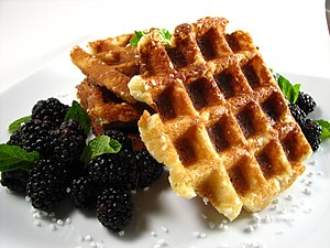 English: Liège waffles.