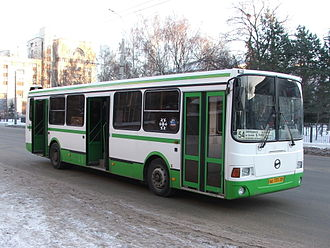 LiAZ (Russia) - LiAZ-5256 bus (second generation) in Penza
