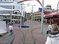 Liberec, Fügnerova, napojení tramvajových tratí.jpg
