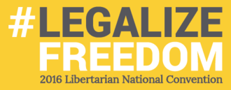 2016 Libertarian National Convention - Image: Libertarian 2016convention