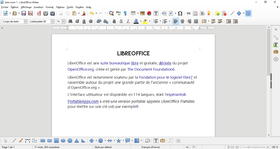 LibreOffice Writer 5.0.6.3