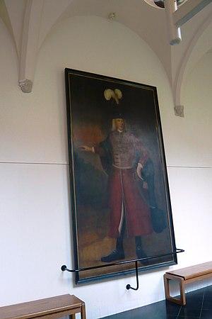 Daniel Cajanus - Life-size portrait of Daniel Cajanus in Haarlem city hall