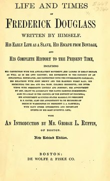 Life and Times of Frederick Douglass (1892).djvu