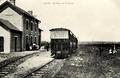 Ligne ferroviaire Coutances-Lessay à voie métrique - La gare d'Agon 02.png