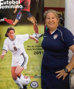 Linda Hamilton (soccer) - Image: Linda Hamilton soccer