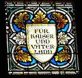 Linzer Dom - Fenster Katholischer Volksverein 3 Widmung.jpg