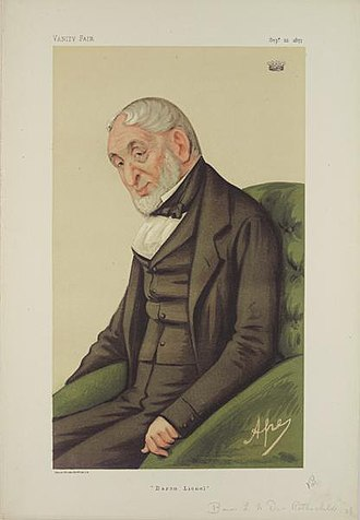 Lionel de Rothschild - Image: Lionel de Rothschild 22 September 1877