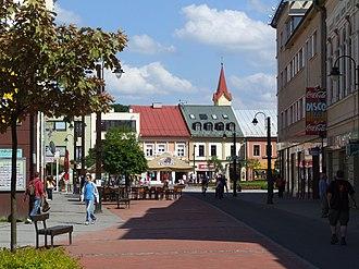 Liptovský Mikuláš - Town centre of Liptovský Mikuláš