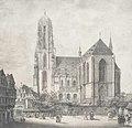 Litho - Frankfurt - Kaiserdom - Quaglio - 1819.jpg