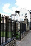 Little Trinity, Cambridge - Garden Walls, Railings and Gates.JPG