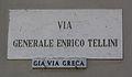Livorno Via Generale Enrico Tellini street name 01.JPG