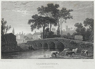 Llanblethan, Glamorganshire