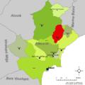 Localització de Busot respecte l'Alacantí.png