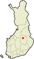 Location of Iisalmi in Finland.PNG