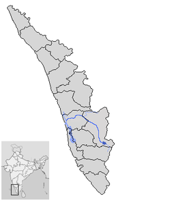 Location of Peiryar River Kerala.png