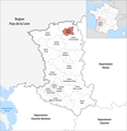 Locator map of Kanton Thouars 2019.png