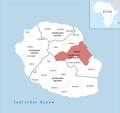 Locator map of Saint-Benoît 2018.png
