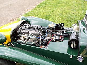 Fiat Twin Cam engine - Image: Locust Fiat