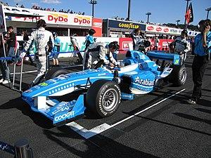 Michael Krumm - Krumm during the 2007 Formula Nippon season.