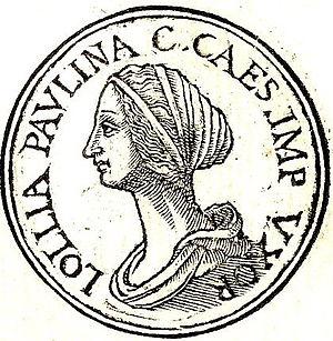Lollia Paulina - Lollia Paulina from Promptuarii Iconum Insigniorum