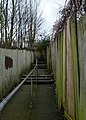 London-Woolwich, Brookhill Road, alley.jpg