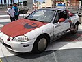Long Beach Comic Expo 2011 - Obi-Shawn's H-Wing Fighter car (5648074859).jpg