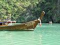 Longtail boat at Hong Island (4443118524).jpg