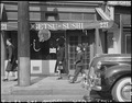 "Los Angeles, California. A store for rent in ""Little Tokyo"" after residents of Japanese ancestry we . . . - NARA - 536797.tif"