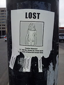 A Fake Lost Person Poster Advertising The Second Annual Treefort Music Fest  In Boise, Idaho, 2013  Lost Person Poster