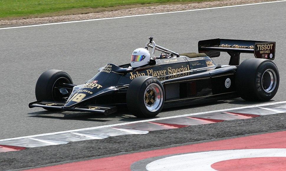Lotus 87 2008 Silverstone Classic