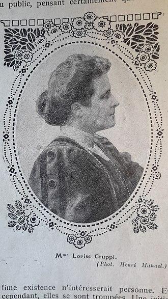 Louise Cruppi - Louise Cruppi