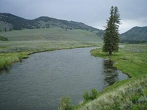 Slough Creek (Wyoming) - Image: Lower Slough Creek