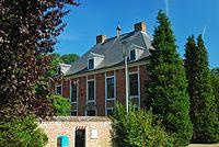 Lubbeek - Dekenij, dubbelhuis 1757 (voorgevel hoofdgebouw)