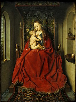 Lucca Madonna by Jan Van Eyck - Städel - Frankfurt am Main - Germany 2017.jpg