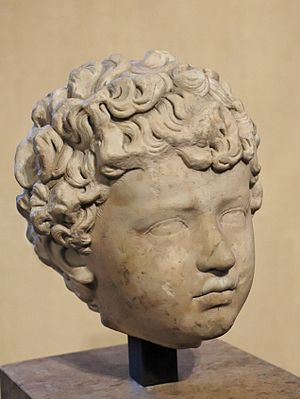Lucius Verus - Lucius Verus as a child.