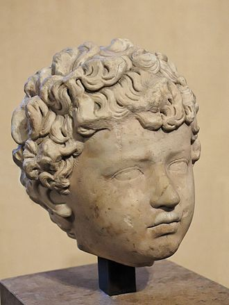 Lucius Verus - Lucius Verus as a child