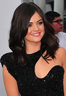 Lucy Hale American actress and singer