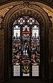 Ludovico seitz (dis.), vetrata con la madonna in trono, angeli, adamo ed eva, 1875-82 ca. 02.jpg