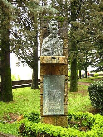 Luigi Illica - Bust of Luigi Illica at Castell'Arquato