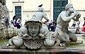 Luigi amici, tritoni e mascheroni della fontana del moro, copia da giacomo della porta, 1874, 15.jpg