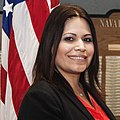 Lupe Garcia program analyst for the Public Works Business Line - 14 May 2015 (17325224844) (cropped).jpg