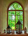 Lutheran church in Augstroze, Window 3.jpg