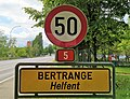 Luxembourg road sign E,9a Helfent.jpg