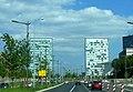 Luxemburg – Avenue John F. Kennedy - Tower A and B, European Parliament - panoramio.jpg