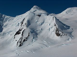 Lyaskovets Peak mountain in Livingston Island, South Shetland Islands, Antarctica