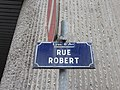Lyon 6e - Rue Robert - Plaque (fév 2019).jpg