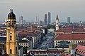 München Blick vom Neuen Rathaus zur Ludwigstraße September 2017.jpg
