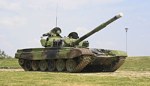 Serbian Army - M-84 main battle tank